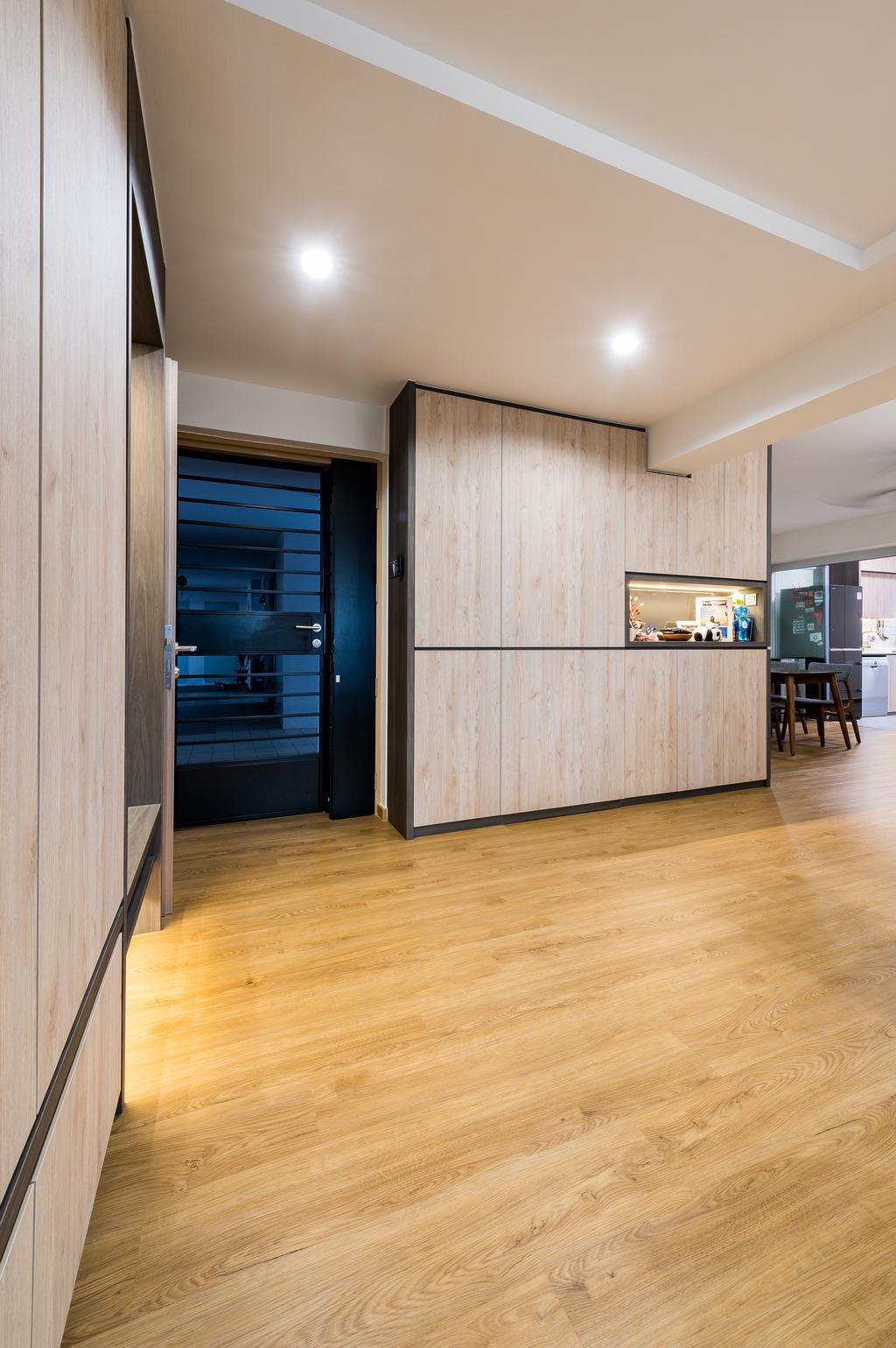 Modern, HDB, Living Room, Chua Chu Kang Crescent, Interior Designer, TDI Interior