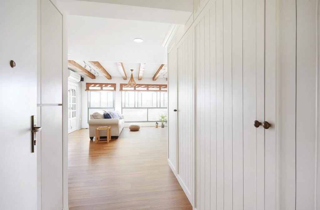 Scandinavian, HDB, Living Room, Punggol Drive, Interior Designer, The Local INN.terior 新家室