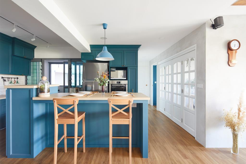 Scandinavian, HDB, Kitchen, Punggol Drive, Interior Designer, The Local INN.terior 新家室