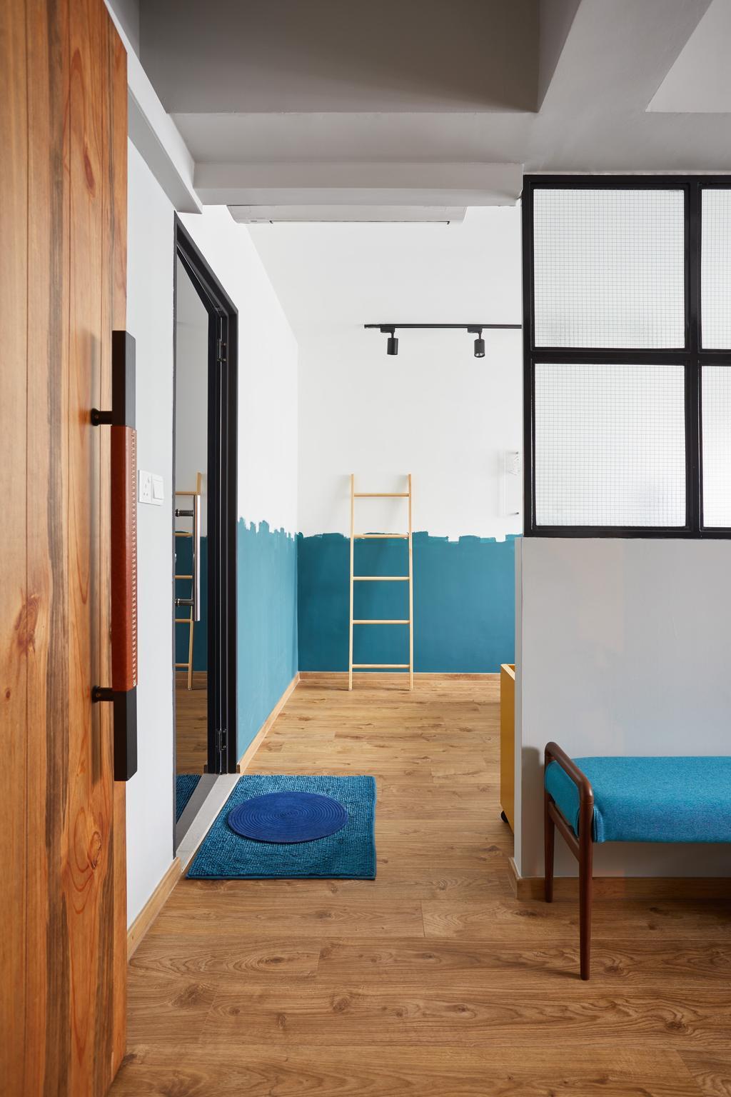 Contemporary, HDB, Woodlands Drive, Interior Designer, The Local INN.terior 新家室