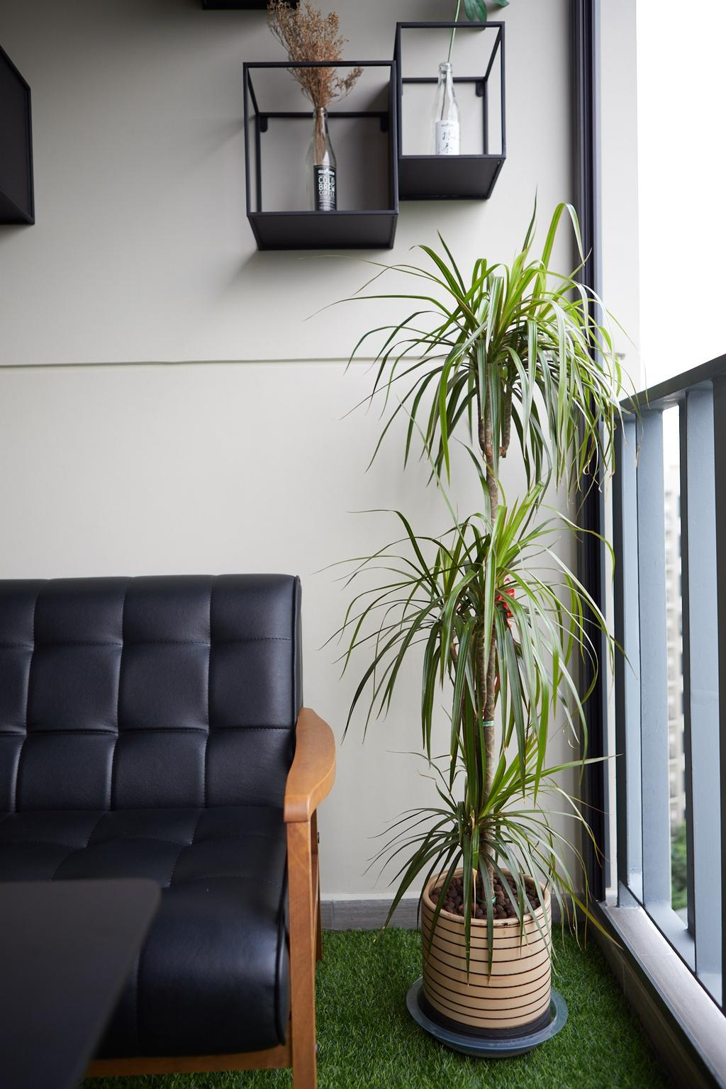 Contemporary, Condo, Balcony, The Brownstone, Interior Designer, The Local INN.terior 新家室, Modern