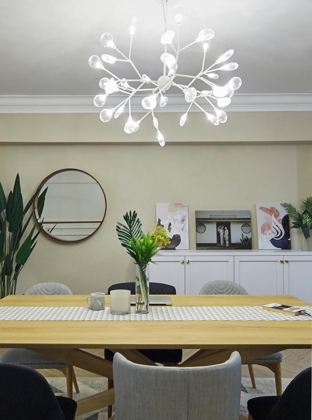 Contemporary, HDB, Dining Room, Choa Chu Kang North 5, Interior Designer, i-Chapter, Scandinavian
