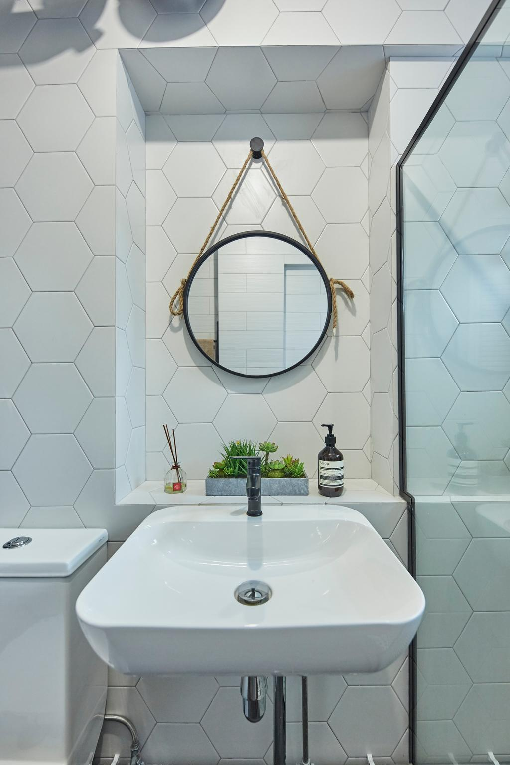 Contemporary, HDB, Bathroom, Choa Chu Kang North 5, Interior Designer, i-Chapter, Scandinavian