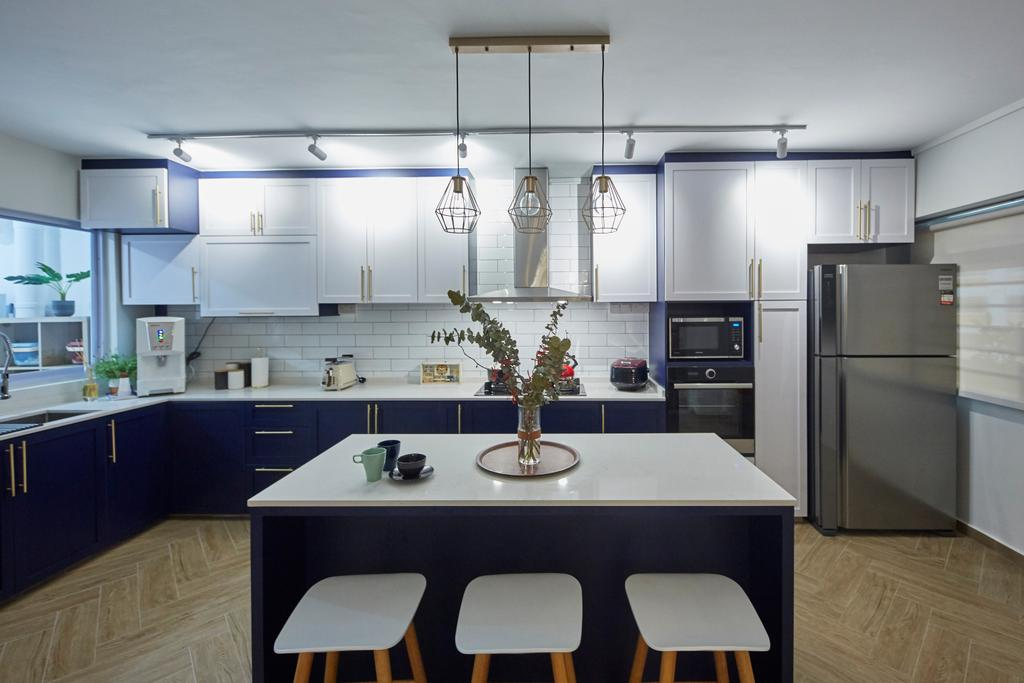 Contemporary, HDB, Kitchen, Choa Chu Kang North 5, Interior Designer, i-Chapter, Scandinavian