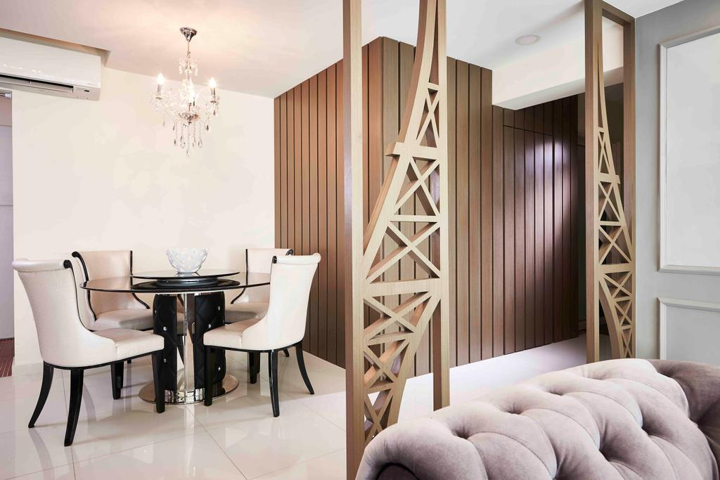 Contemporary, HDB, Dining Room, Punggol, Interior Designer, Artitecture