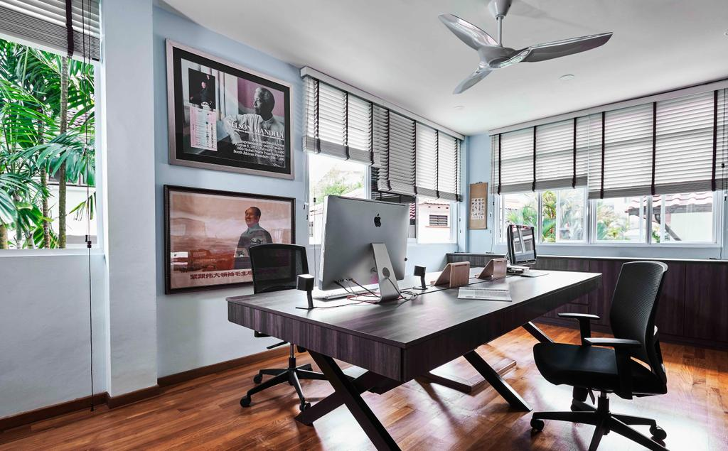 Contemporary, Landed, Study, Namly Garden, Interior Designer, Artitecture