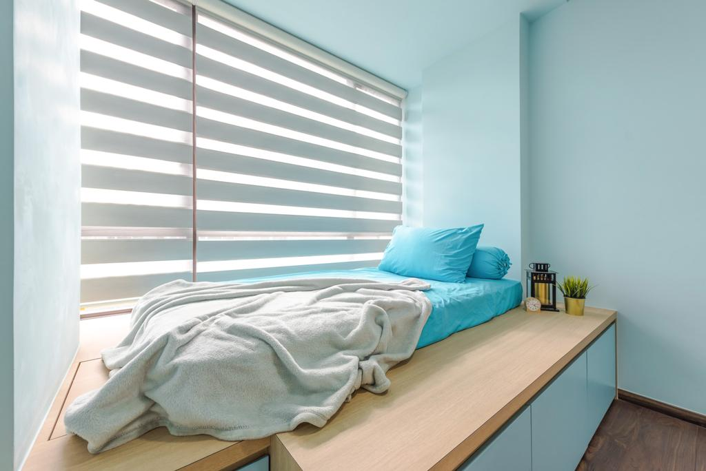 Contemporary, Condo, Bedroom, d'Nest, Interior Designer, Dap Atelier