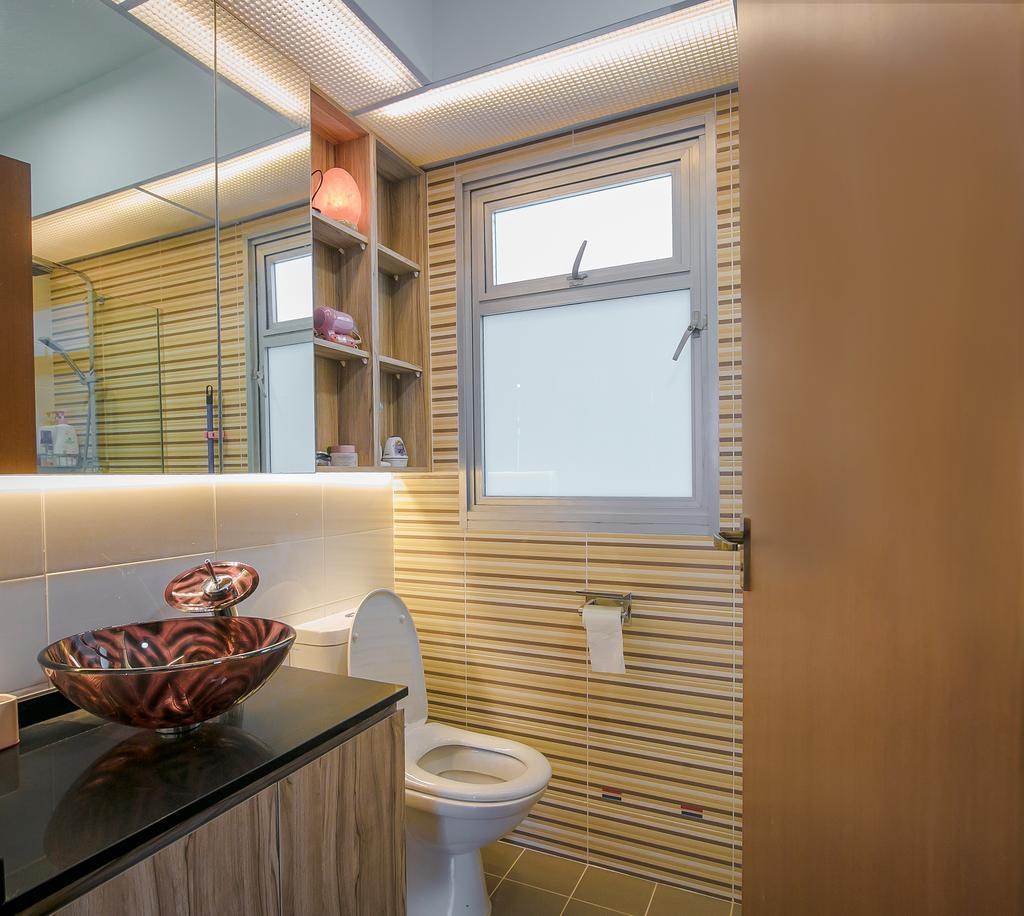 Contemporary, HDB, Bathroom, Bukit Batok West, Interior Designer, Fifth Avenue Interior