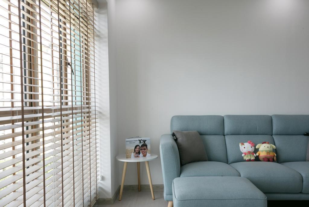 Scandinavian, HDB, Living Room, Punggol Central, Interior Designer, Fifth Avenue Interior