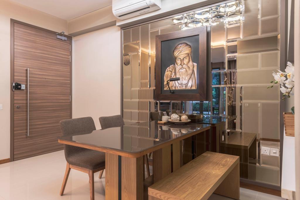 Contemporary, Condo, Dining Room, Choa Chu Kang, Interior Designer, Fifth Avenue Interior
