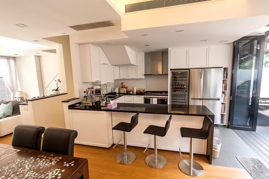 Contemporary, Landed, Kitchen, Hillcrest Villa, Interior Designer, i. Haven Design