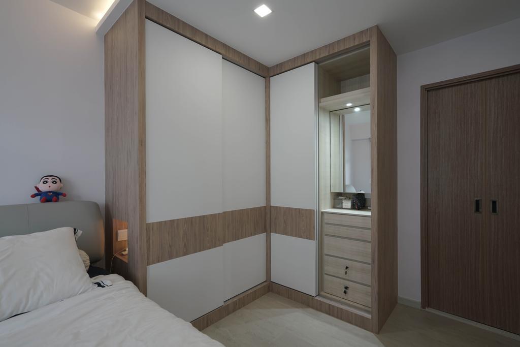 Scandinavian, HDB, Bedroom, West Rock @ Bukit Batok, Interior Designer, ELPIS Interior Design