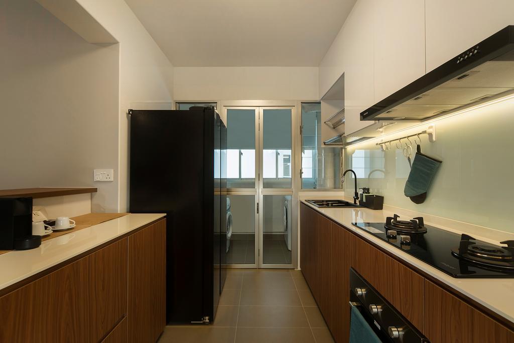 Modern, HDB, Kitchen, St. George's Lane, Interior Designer, Great Oasis Interior Design