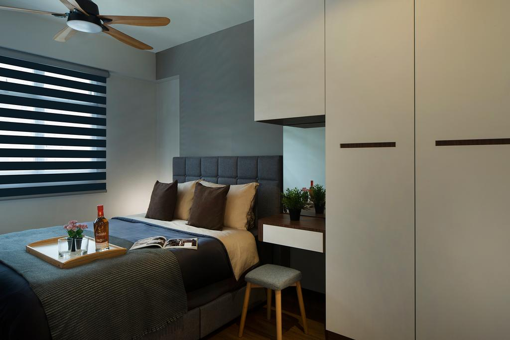 Modern, HDB, Bedroom, St. George's Lane, Interior Designer, Great Oasis Interior Design