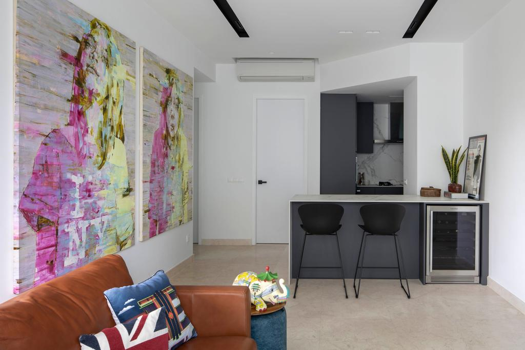 Contemporary, Condo, Living Room, The Imperial, Interior Designer, Briey Interior