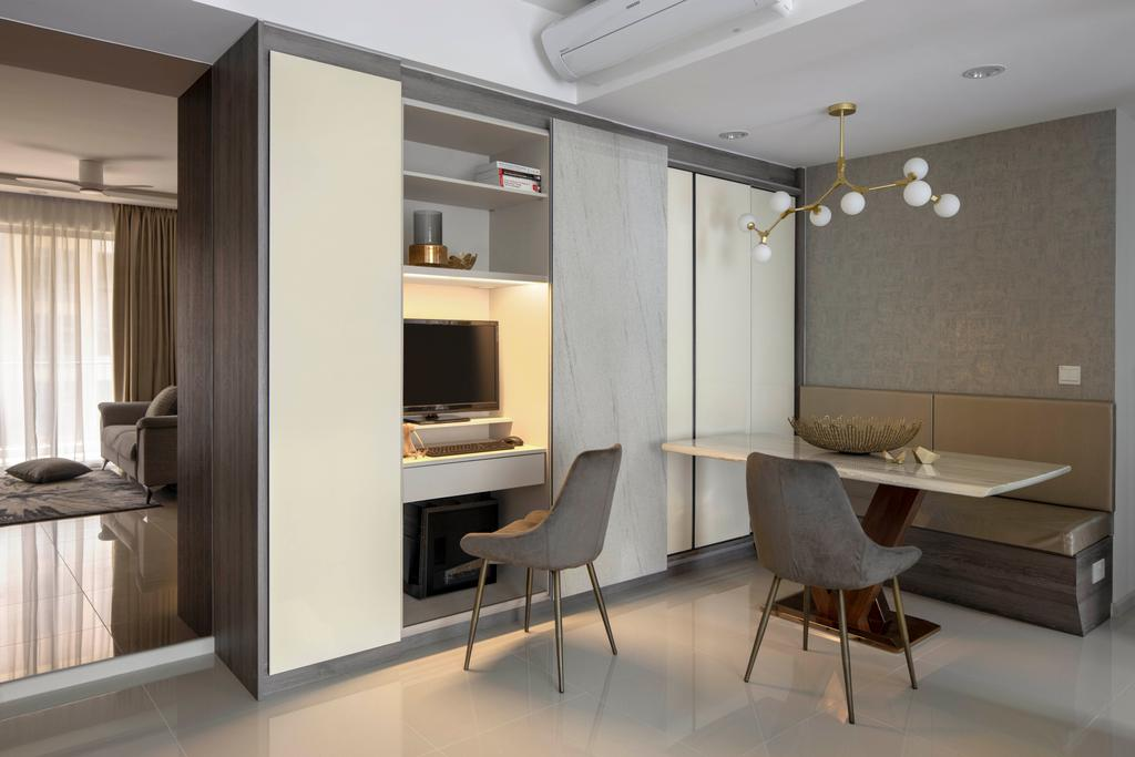 Contemporary, Condo, Dining Room, The Visionaire, Interior Designer, Briey Interior