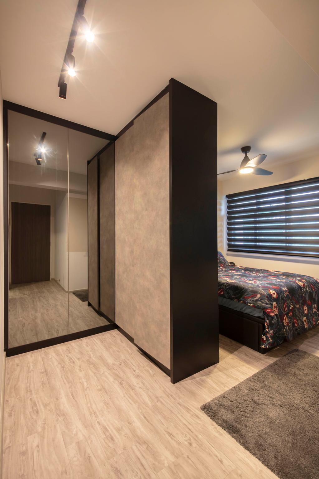 Modern, HDB, Bedroom, Choa Chu Kang Avenue 5, Interior Designer, Starry Homestead