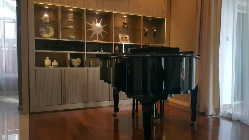 Contemporary, Landed, Living Room, The Glades, USJ, Interior Designer, Blaine Robert Design Sdn. Bhd., Modern