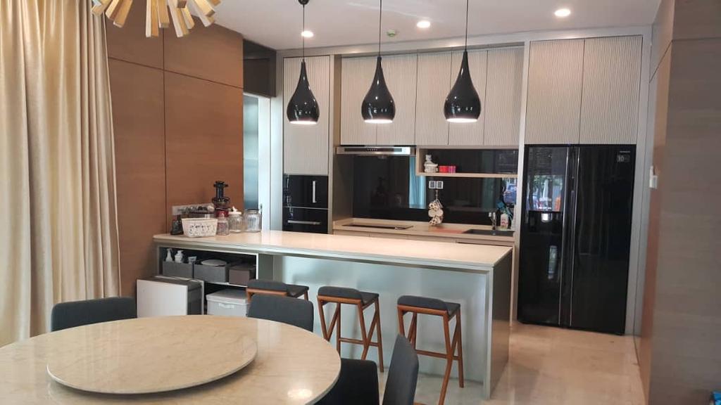 Contemporary, Landed, Dining Room, The Glades, USJ, Interior Designer, Blaine Robert Design Sdn. Bhd., Modern