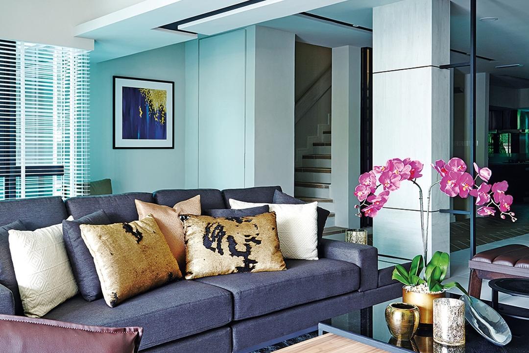 Setiawangsa Living Room Interior Design 2