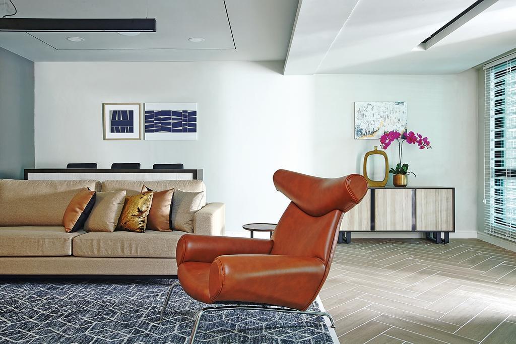 Modern, Landed, Living Room, Setiawangsa, Interior Designer, Blaine Robert Design Sdn. Bhd., Contemporary