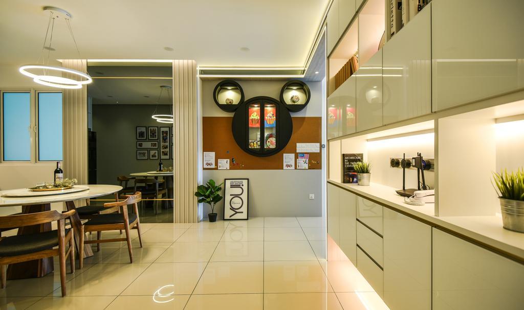 Modern, Condo, The Clovers, Bayan Lepas, Penang, Interior Designer, Wood & Col Interior Design, Contemporary