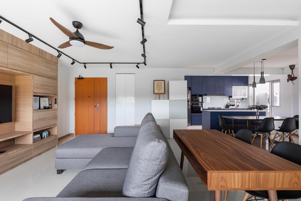 Scandinavian, HDB, Living Room, Bukit Batok West Avenue 5, Interior Designer, Voila