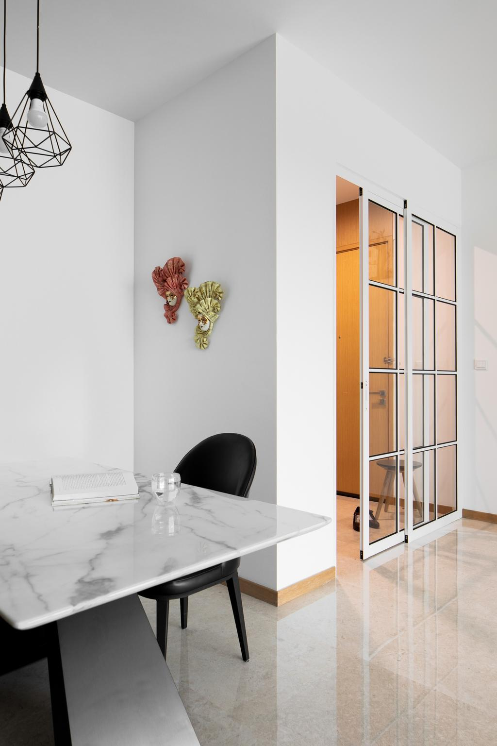 Modern, Condo, Dining Room, Lush on Holland Hill, Interior Designer, Anhans Interior Design, Contemporary