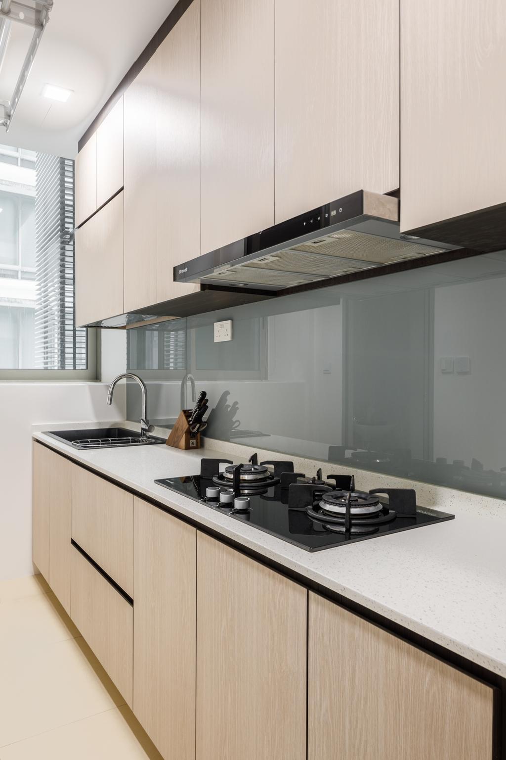 Modern, Condo, Kitchen, Lush on Holland Hill, Interior Designer, Anhans Interior Design, Contemporary