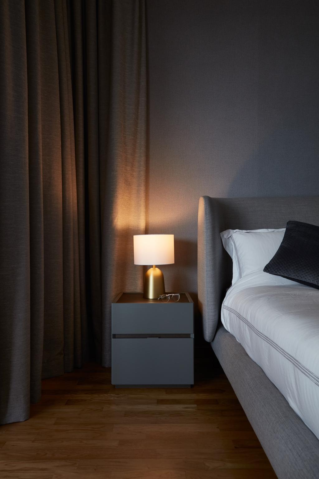 Modern, Condo, Bedroom, Trilight, Interior Designer, Free Space Intent