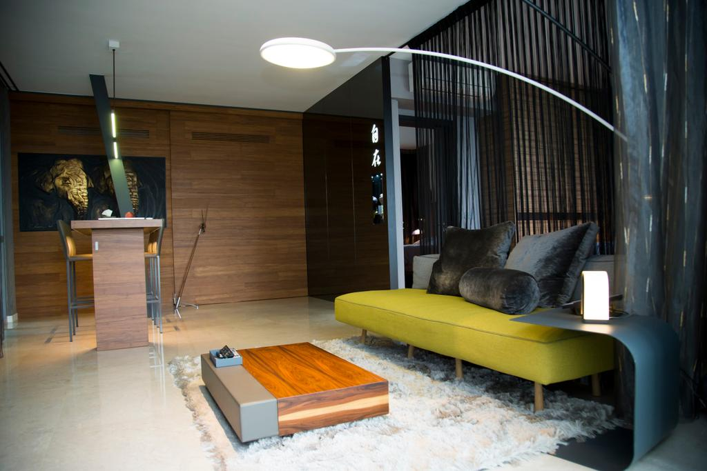 Contemporary, Condo, Living Room, Thomson Grand, Interior Designer, Ataz Haus Interior Design, Traditional