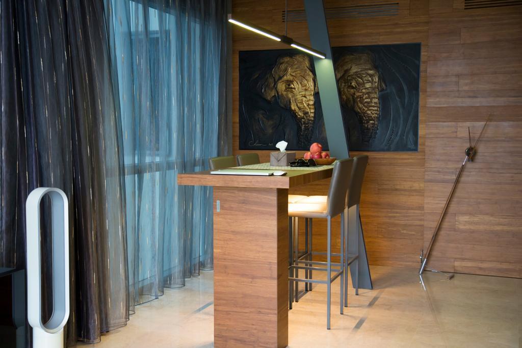 Contemporary, Condo, Study, Thomson Grand, Interior Designer, Ataz Haus Interior Design, Traditional