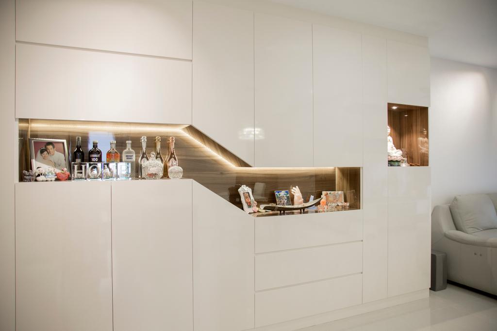 Contemporary, Condo, Living Room, Forestville, Interior Designer, Ataz Haus Interior Design