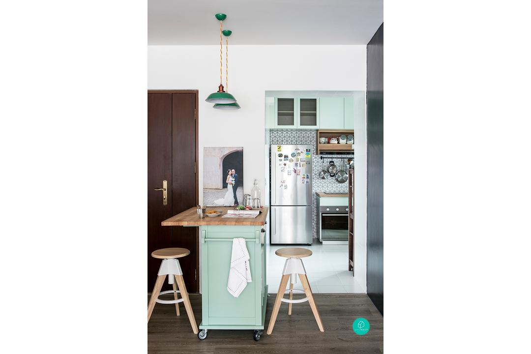 Renovation Journey: Going Brazen With Colours