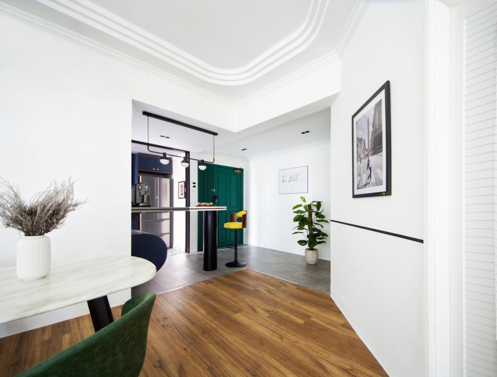 Transitional, Condo, Dining Room, Parc Oasis, Interior Designer, DISTINCTidENTITY