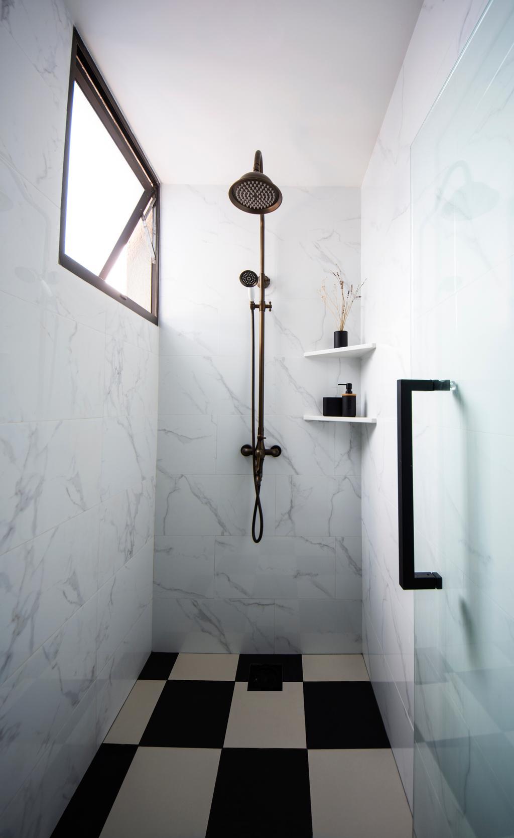 Transitional, Condo, Bathroom, Parc Oasis, Interior Designer, DISTINCTidENTITY