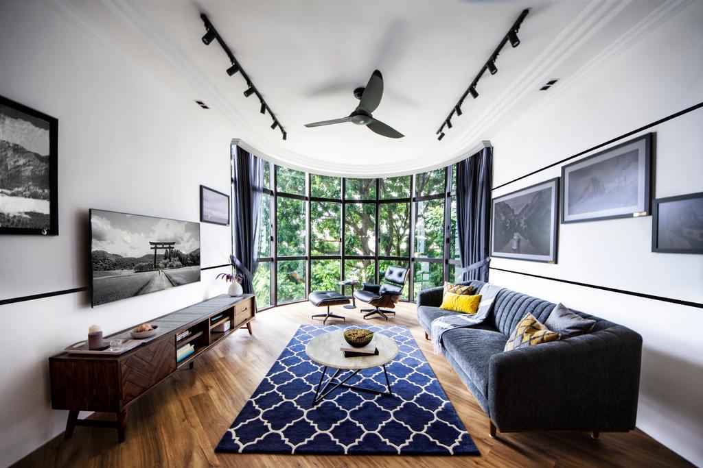 Transitional, Condo, Living Room, Parc Oasis, Interior Designer, DISTINCTidENTITY
