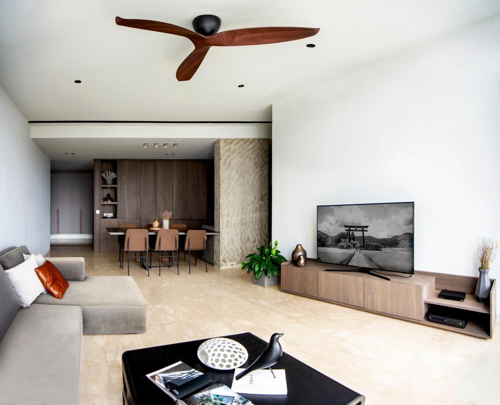 Contemporary, Condo, Living Room, The Trumps, Interior Designer, DISTINCTidENTITY