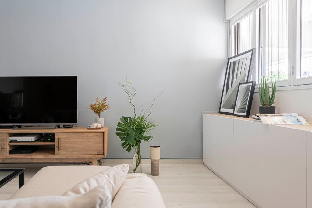 Scandinavian, HDB, Living Room, Shunfu Road, Interior Designer, ARK-hitecture