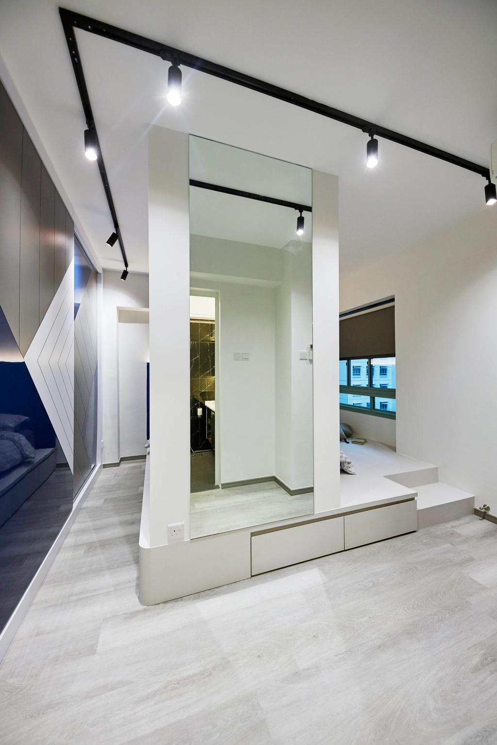 Contemporary, HDB, Bedroom, Punggol Drive, Interior Designer, i-Chapter
