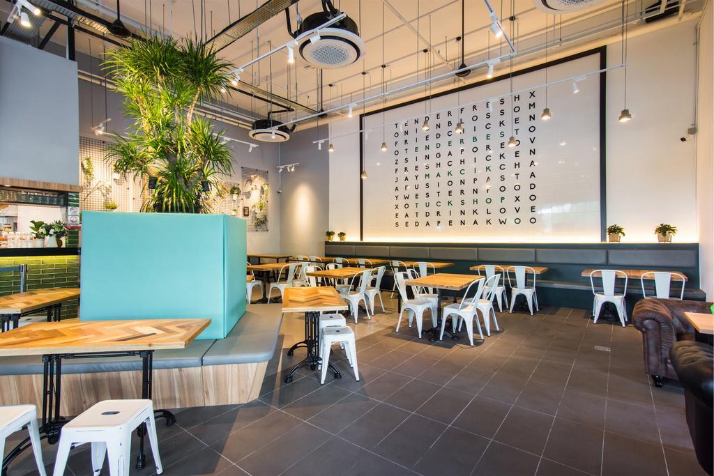 Woodlands Close, Commercial, Interior Designer, Flo Design, Contemporary, Retro