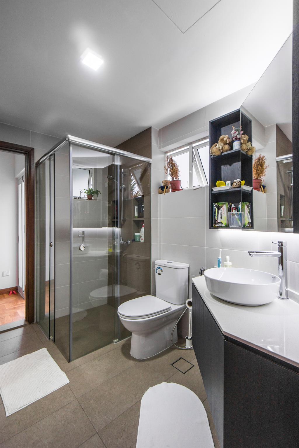 Contemporary, Landed, Bathroom, Kew Avenue, Interior Designer, Flo Design