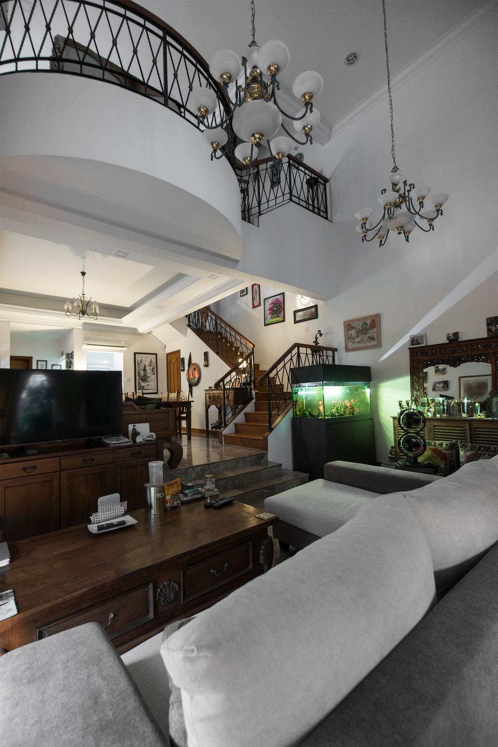 Contemporary, Landed, Living Room, Kew Avenue, Interior Designer, Flo Design