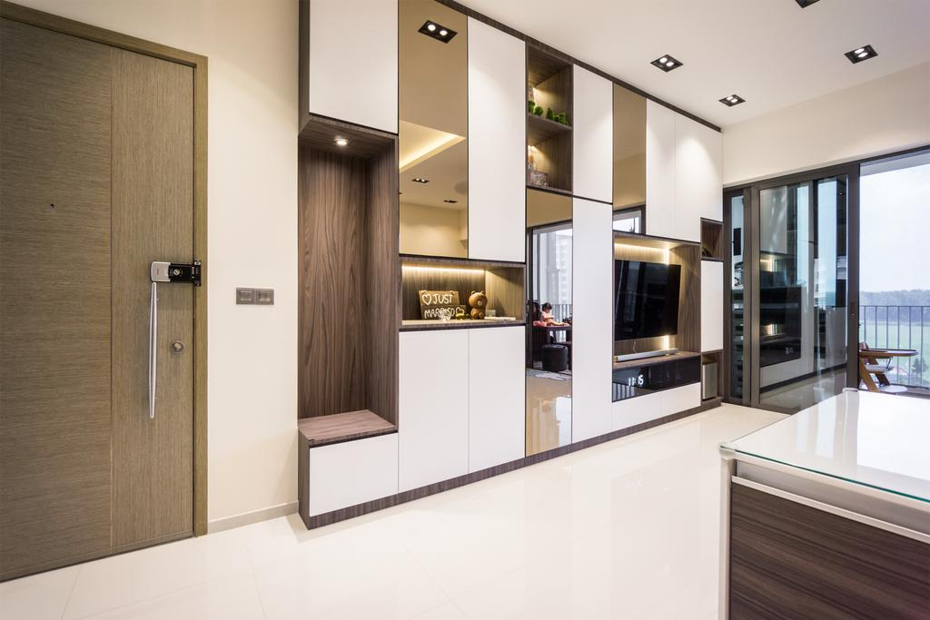 Contemporary, Condo, Living Room, The Terrace, Interior Designer, Flo Design