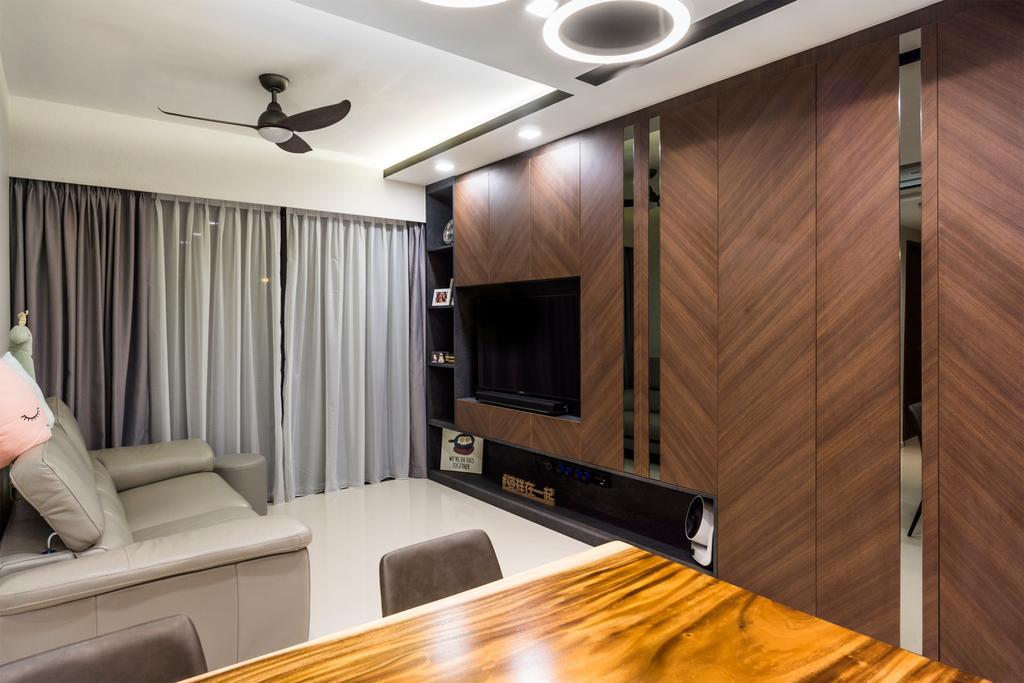 Contemporary, Condo, Living Room, The Visionaire, Interior Designer, Flo Design, Modern