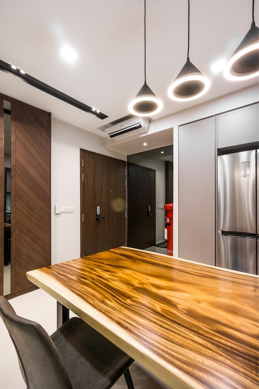Contemporary, Condo, Dining Room, The Visionaire, Interior Designer, Flo Design, Modern