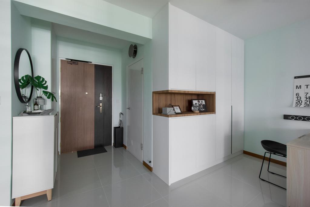 Contemporary, HDB, Sumang Walk, Interior Designer, Flo Design