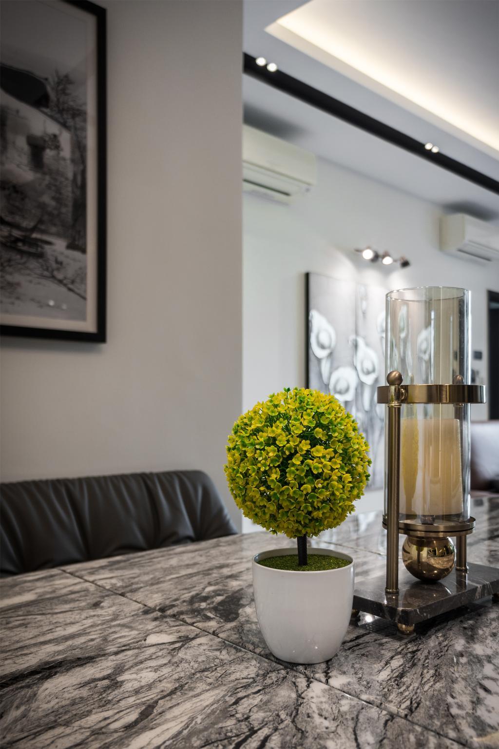 Contemporary, Landed, Dining Room, D'Saville, Interior Designer, Flo Design