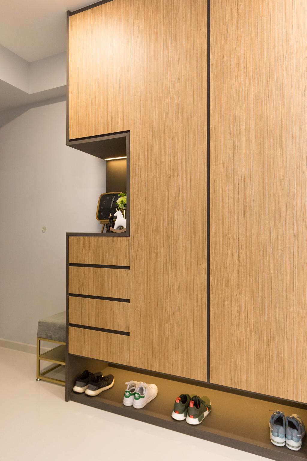 Contemporary, Condo, Northpark Residences, Interior Designer, Charlotte's Carpentry