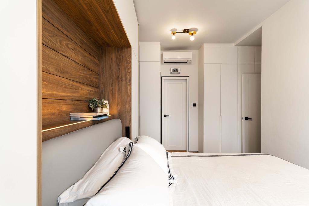 Modern, Condo, Bedroom, Jalan Mutiara, Interior Designer, Fineline Design